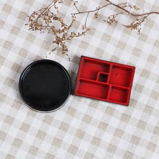 4pcs Dollhouse miniature kitchen sushi plate box toy gift kid doll toys