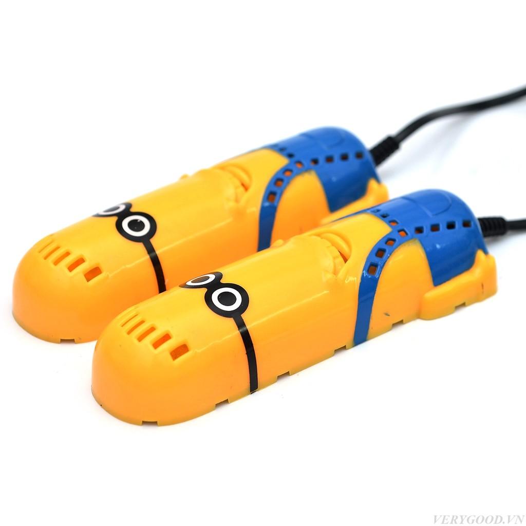 Máy sấy khô khử mùi cho giày hình Minion vrg008939 - 2985408 , 162920264 , 322_162920264 , 69000 , May-say-kho-khu-mui-cho-giay-hinh-Minion-vrg008939-322_162920264 , shopee.vn , Máy sấy khô khử mùi cho giày hình Minion vrg008939