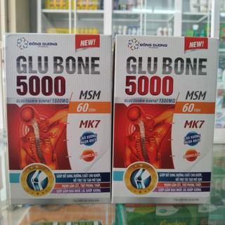 [Hỗ trợ] Giảm đau nhức xương khớp GLU BONE 5000 hộp 60 viên