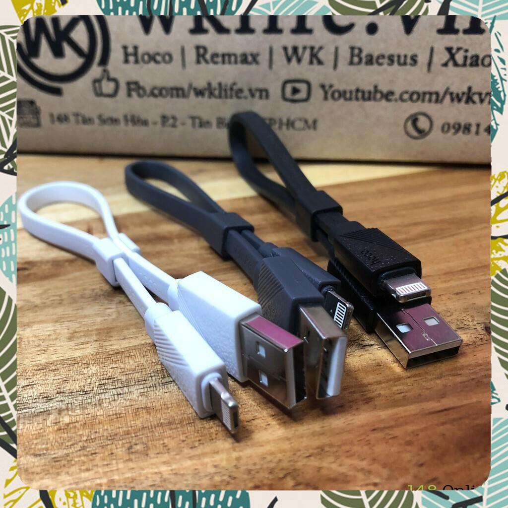 [SALE SHOCK] Cáp Sạc Nhanh  2 In 1 Lightning Và Micro USB Hoco U34 LingYing | Ngắn 25CM