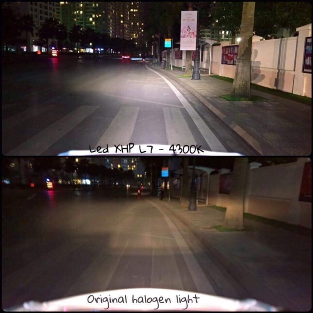 Đèn pha siêu sáng philip lumiled xhp70 L7