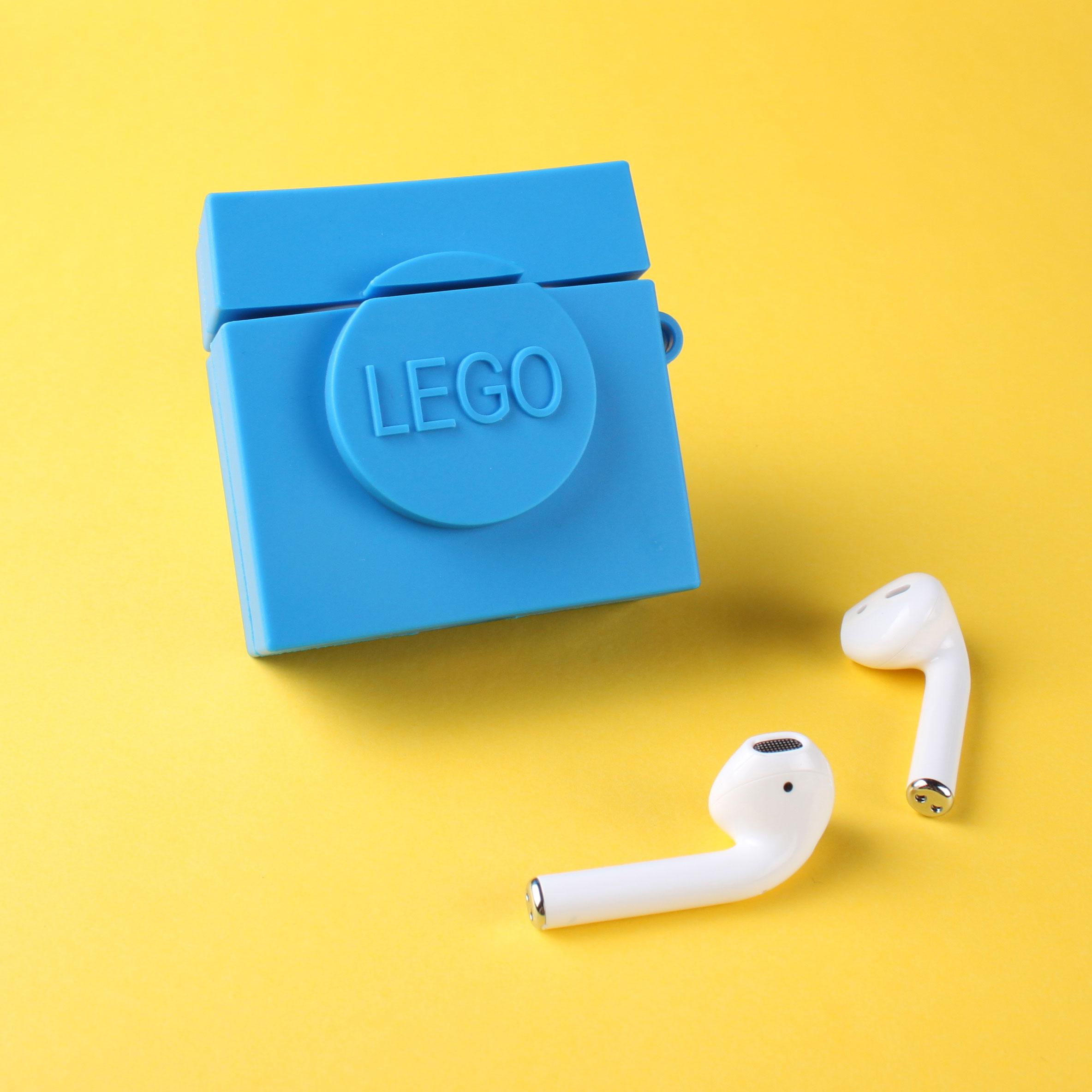 Vỏ Đựng Bảo Vệ Hộp Sạc Tai Nghe Airpods 1 / 2 Hình Lego Ngộ Nghĩnh