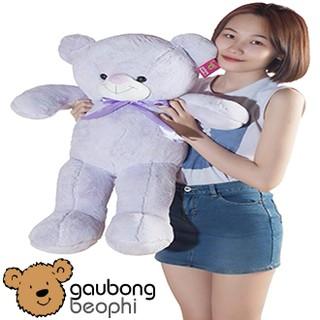 [Nhập TOYFREESHIP Giảm 15%] Gấu teddy lông bột màu tím