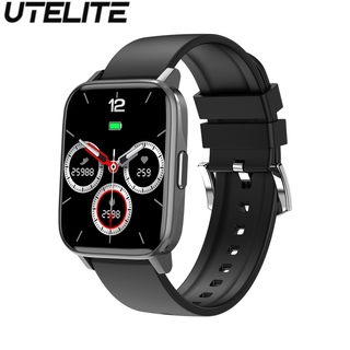 Đồng hồ thông minh Utelite Gw24 1.69 inch Ip68 chống thấm nước theo dõi nhịp tim/ huyết áp/ chế độ tập thể dục