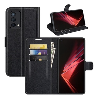 OPPO K9 Luxury Wallet Flip Leather Case Cover With Stand Function