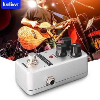fo KOKKO FCP2 Mini Compressor Pedal Portable Guitar Effect Pedal Guitar Parts