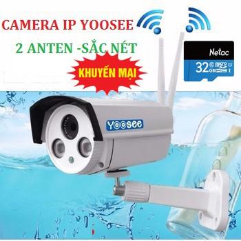 Camera Yoosee Lắp ngoài trời 2 râu Z7 + Tặng thẻ nhớ 32G hãng - 3056732 , 1208077688 , 322_1208077688 , 800000 , Camera-Yoosee-Lap-ngoai-troi-2-rau-Z7-Tang-the-nho-32G-hang-322_1208077688 , shopee.vn , Camera Yoosee Lắp ngoài trời 2 râu Z7 + Tặng thẻ nhớ 32G hãng