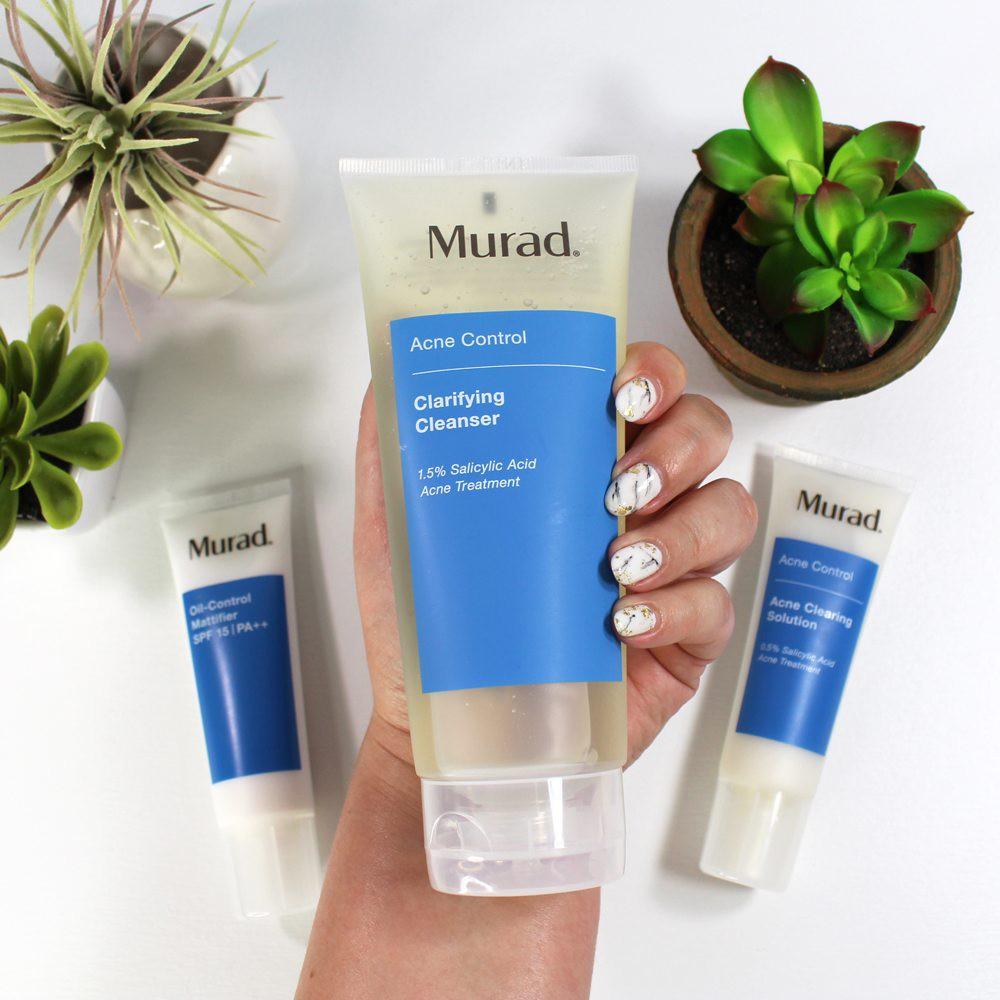 Sữa Rửa Mặt Trị Mụn Murad Acne Control Clarifying Cleanser