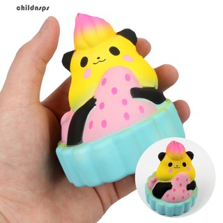 Cute Squishy Bear Cake Slow Rising Kids Adults Vent Squeeze Toys Stress Reliever