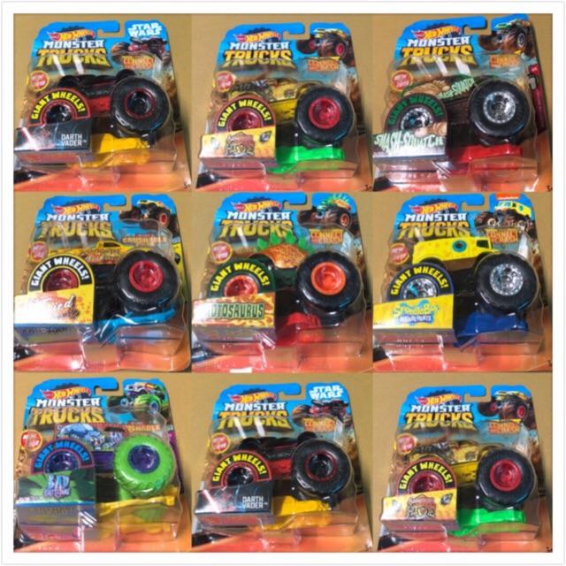 Xe mô hình Hotwheels Monster Trucks