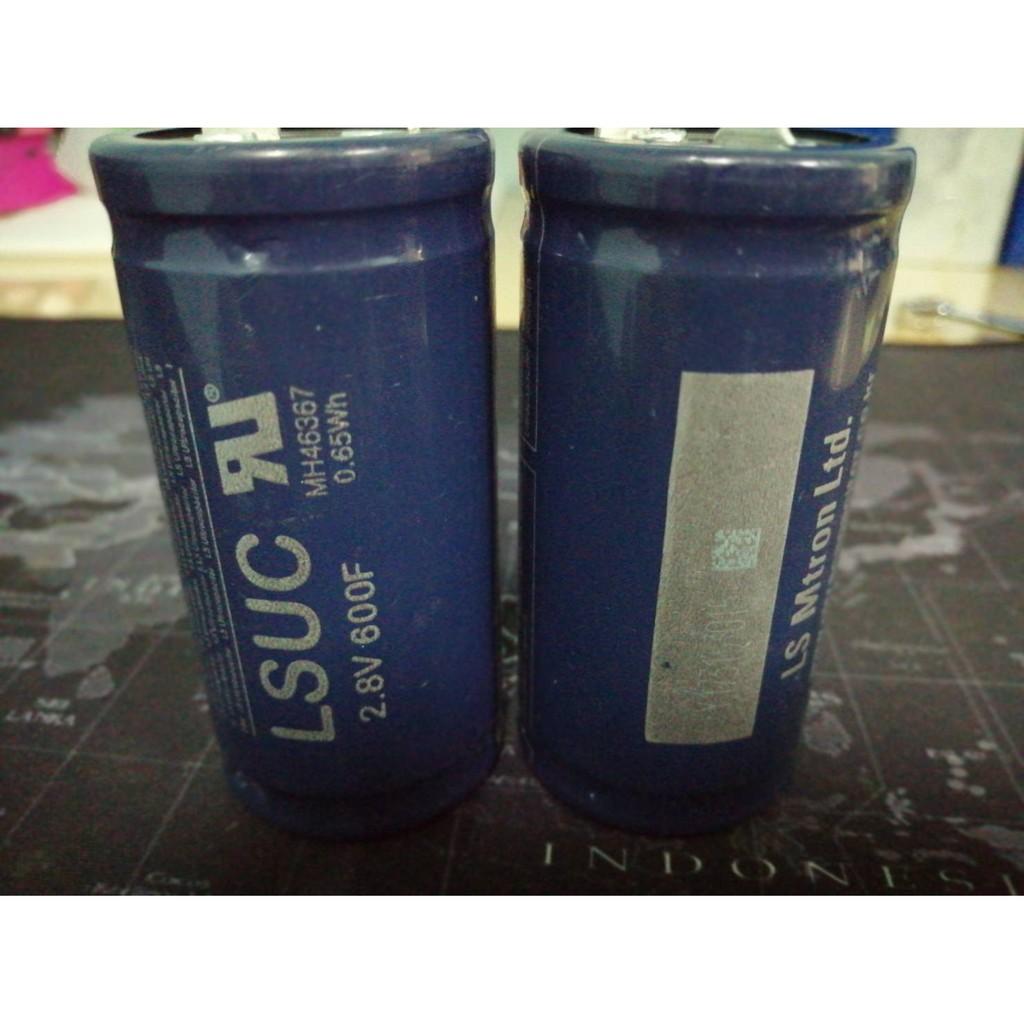 LSUC Super Capacitor 2.8v 600F