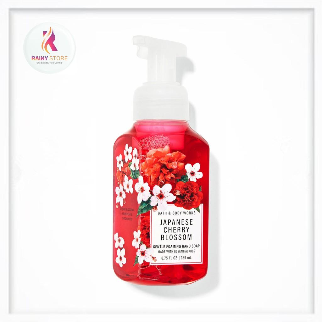 Nước rửa tay tạo bọt Bath & Body Works Japanese Cherry Blossom 259ml