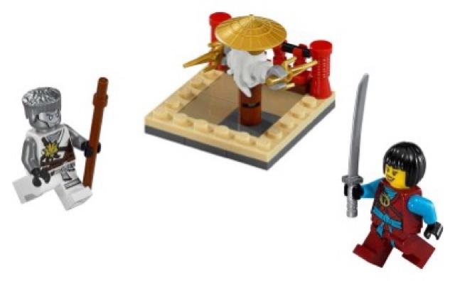 Lego Ninjago 30425 - CRU Masters' Training Grounds polybag - Bộ xếp hình Lego Bãi huấn luyện ninja