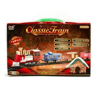 Đồ Chơi Mô Hình Tàu Hỏa Classic Train 208A