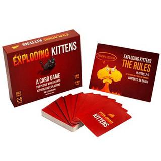 Bài Mèo Nổ Đỏ Exploding Kittens Giá Rẻ