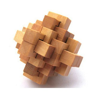 Wooden Puzzle Lock Toy 02 Education Christmas Gift