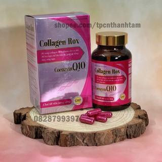 [HOT]Viên uống COLLAGEN ROX bổ sung Collagen, hỗ trợ làm đẹp da, trắng sáng da – Hộp 60 viên