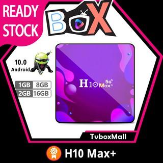 Hộp Tv TVBOXMALL H10 Max Plus 4k Hd Android 10.0 Hdmi 2.0 H3 Lõi Tứ thumbnail