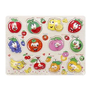 Bảng đồ chơi ghép hình trái cây