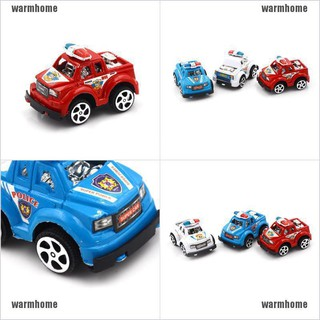 warmhome Police Cars Plastic Alloy Cars Toys Birthday Gift For Kids Boys Cars Toys thro