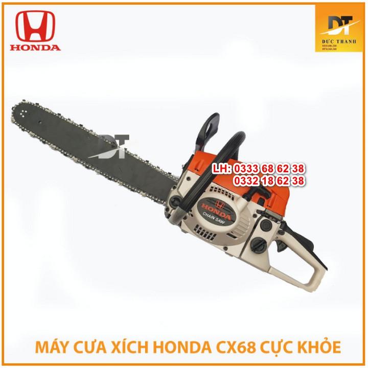 Máy Cưa Xích Chạy Xăng Honda Cx68-Máy Cưa Gỗ Chạy Xăng Lam Dài 55Cm