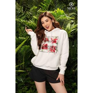 Neva Áo hoodie NEVA họa tiết Noel cho mẹ (Đỏ 20F1W520204T012 Trắng (20F1W520203T010) thumbnail