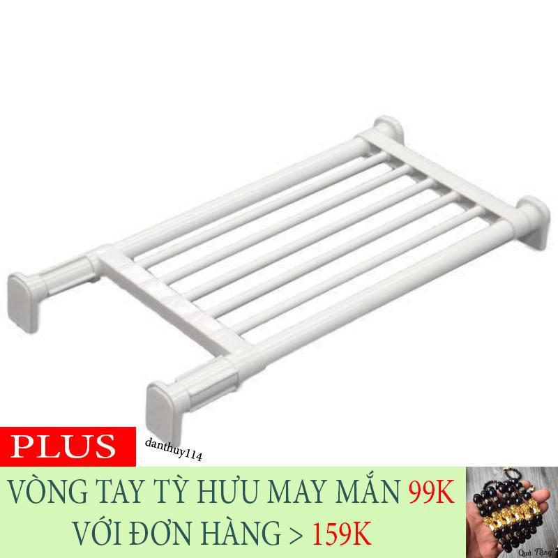 [SALE SALE SALE] Kệ chia ngăn không cần khoan vít Heian 50cm kéo dài 73cm