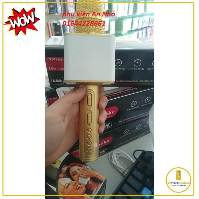 Micro Karaoke Bluetooth Sd 08 Hàng Chuẩn Ạ (2 Màu Vàng Và Đen ) Cao Cấp [Có Hạn]
