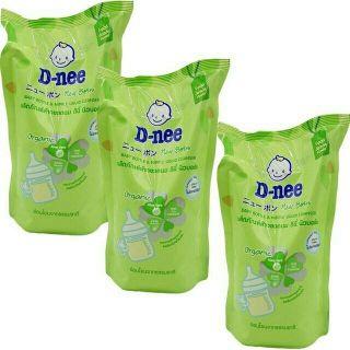 HSD 2023, 3 TÚI - Combo 3 Túi Rửa Bình Sữa Dnee 600ML Thái Lan thumbnail
