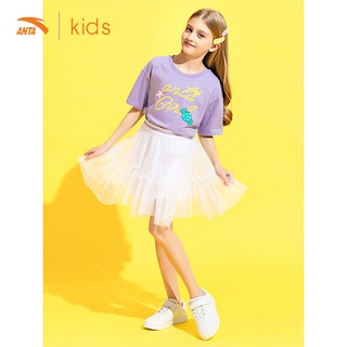 Chân váy ngắn bé gái Anta Kids 362027383-1 thumbnail