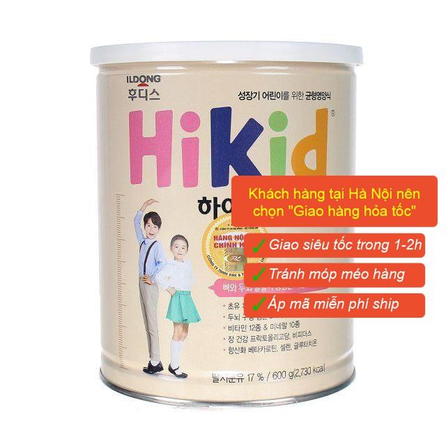 Sữa Hikid Vani, Socola, Premium, Dê tăng chiều cao đủ vị 600-700g Date mới