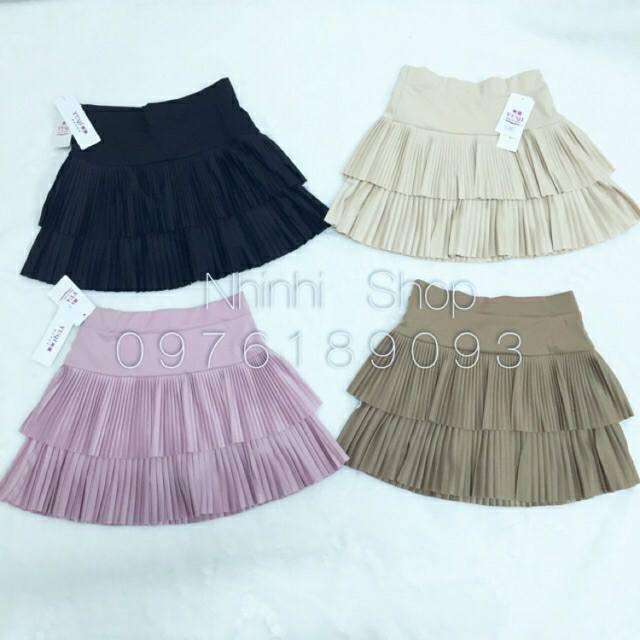 1036361803 - chân váy xếp li hàng nhập