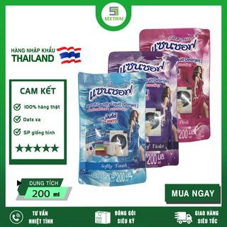 """[HÀNG CHÍNH HÃNG] Nước Giặt Xả Đậm Đặc SANZOFT Thái Lan 200ml ( Giao màu ngẫu nhiên ) giá chỉ còn <strong class=""""price"""">100.000.000đ</strong>"""