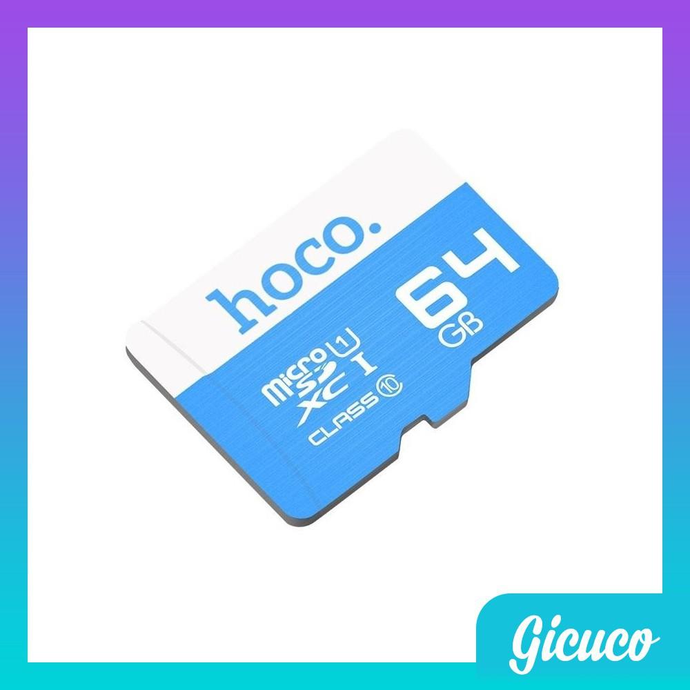 Thẻ Nhớ Micro SD HOCO 64GB (Tốc Độ Cao - Hoàn Thiện Cao Cấp - Phụ kiện VIP HN)