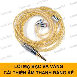 Cáp nâng cấp tai nghe mạ bạc vàng dành cho ZSTpro ZSNpro ZS10pro MMCX... thumbnail