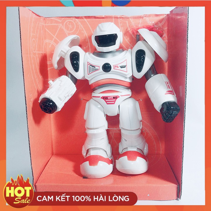 NIỀM VUI CỦA BÉ – Robot Toy Màu Cam BW1942- Siêu Giảm Giá