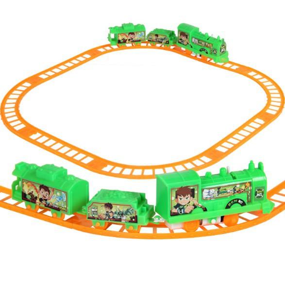 Đồ Chơi Mô hình tàu hỏa lượn vòng Ben 10 vui nhộn cho bé | DB3056 [SHIP TOÀN QUỐC]
