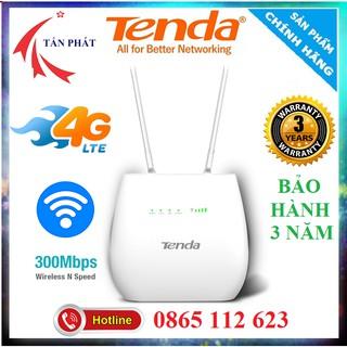 Yêu ThíchTENDA BỘ PHÁT WIFI 4G / 3G LTE - 4G03 4G680 4G180 - CÓ CỔNG LAN - CHÍNH HÃNG 36 THÁNG Văn Phòng Xe Khách, Lắp Cam