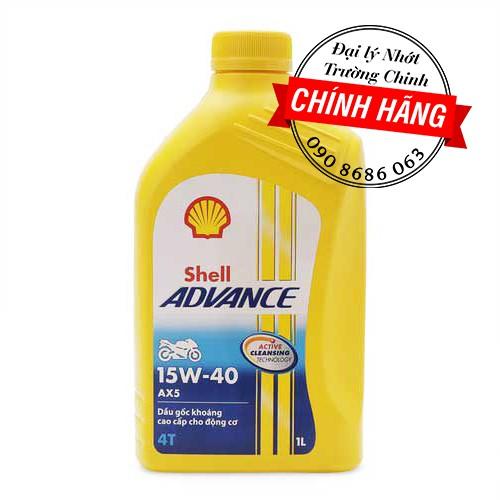 Nhớt Shell advance AX5 15W-40 - 3431800 , 788508017 , 322_788508017 , 100000 , Nhot-Shell-advance-AX5-15W-40-322_788508017 , shopee.vn , Nhớt Shell advance AX5 15W-40