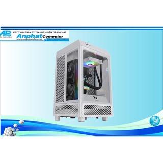 Case máy tính Thermaltek The Tower 100 Snow White - Hàng Chính Hãng - Bảo hành 3 tháng thumbnail