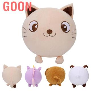 Goon Inflatable Plush Ball Toy Cartoon Animal Shape Game Parent-child Indoor Outdoor Sports B