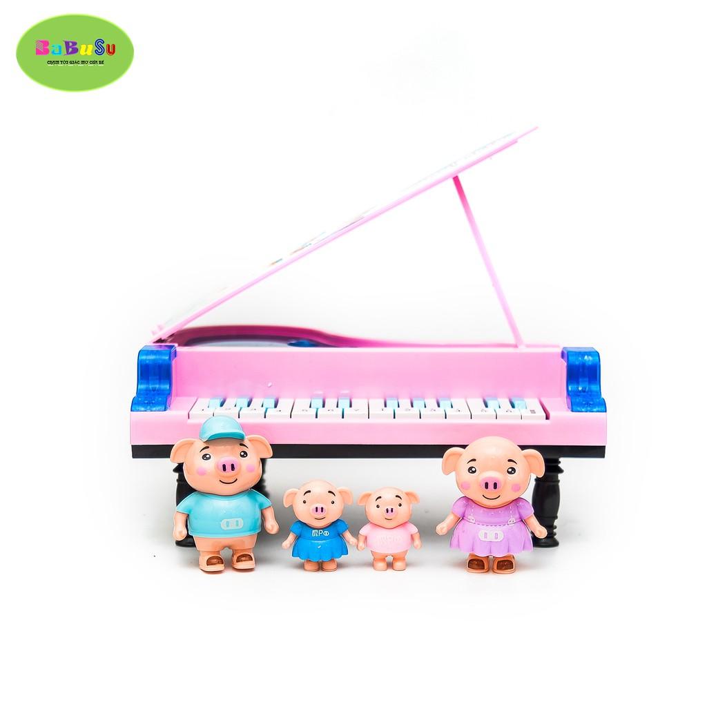ĐÀN PIANO LỢN 18100113389-111 - ĐỒ CHƠI TRẺ EM BABUSU
