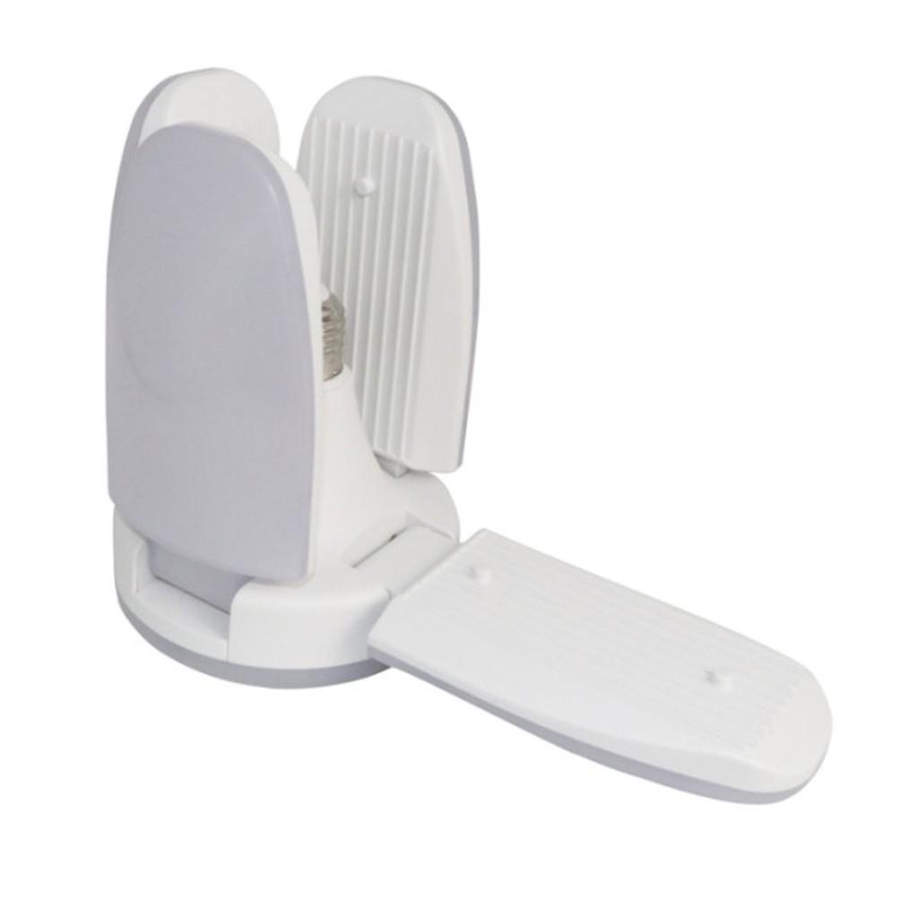 Bóng đèn led hình 4 cánh quạt - Đèn LED cánh quạt đuôi E27 siêu tiết kiệm điện - hàng chuẩn ánh sáng trắng siêu sáng