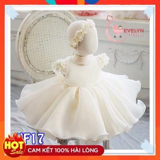 Váy công chúa 👗 FreeShip + Tặng kèm nơ 🌺 Đầm công chúa Evelyn cho bé siêu xinh VF17 E001 E003
