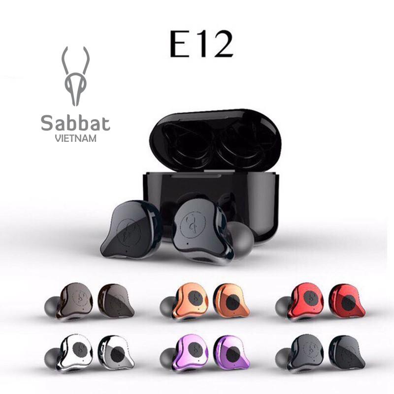 Tai nghe bluetooth Sabbat E12 ultra tổng hợp 4 dòng đủ 16 màu chính hãng bảo hành 12 tháng