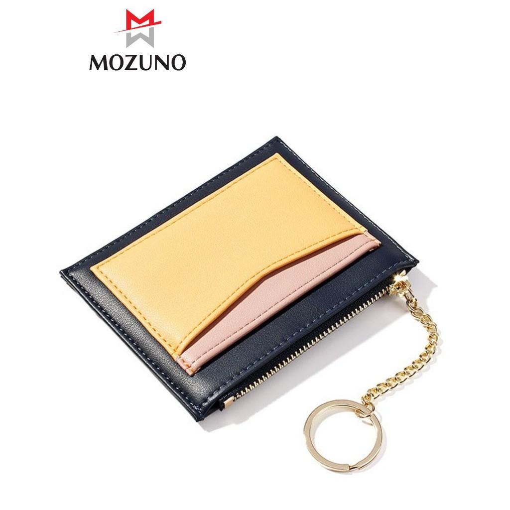 Ví Nữ Mini Đẹp Chính Hãng TAOMICMIC Dáng Vuông Nhỏ Gọn Nhiều Ngăn Đựng Thẻ Tiền Sang Trọng TM32 - Mozuno