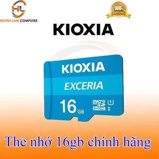 [Mã ELFLASH5 giảm 20K đơn 50K] Thẻ nhớ 16GB KIOXIA Exceria microSDHC tốc độ cao - FPT phân phối