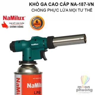 Đèn khò gas cao cấp cắm trại dã ngoại Namilux NA-187-VN – MUÔN PHƯƠNG SHOP