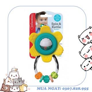 Bông hoa xúc xắc gặm nướu – BPA Free Infantino 216314