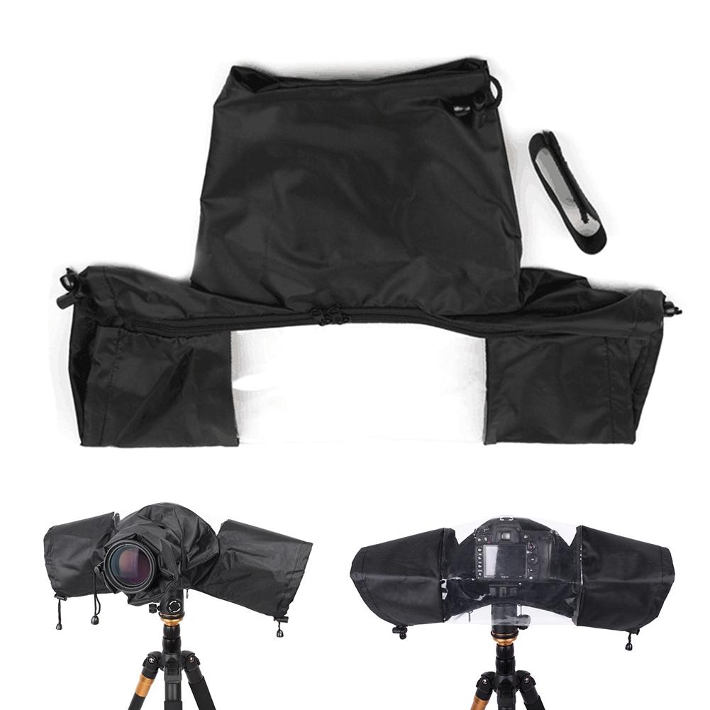 Professional Waterproof Camera Cover PVC Rain Coat Case Bag Protector for Nikon Canon Dslr